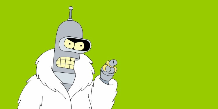 Futurama's Bender, borrowed from hollywoodhatesme.wordpress.com